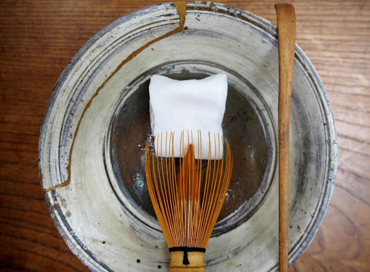 刷毛目茶碗